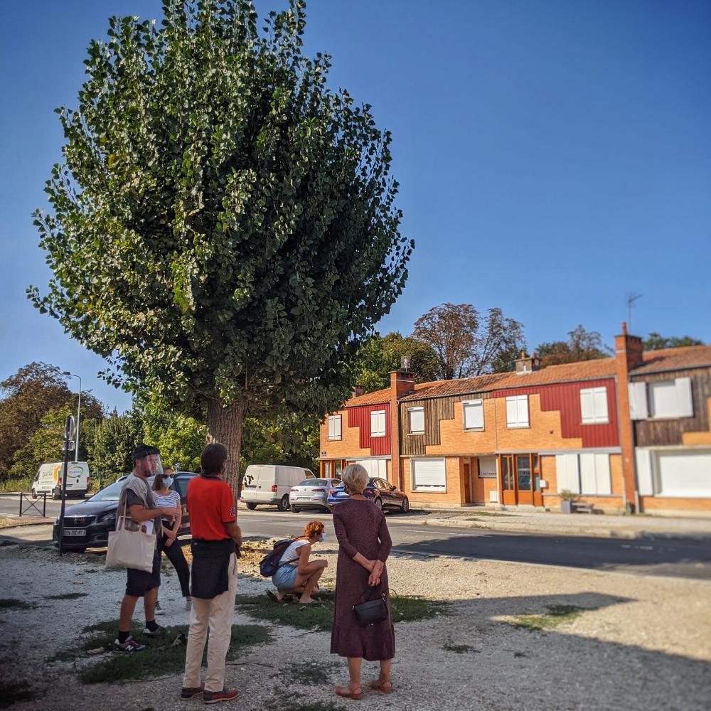 Bacalan Claveau, de la rue bleue à la cité verte